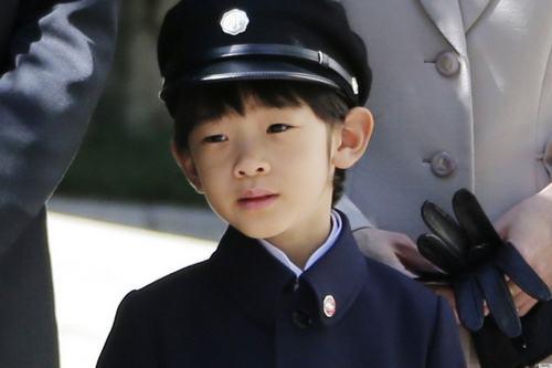 Príncipe Hisahito, herdeiro do Trono do Crisântemo