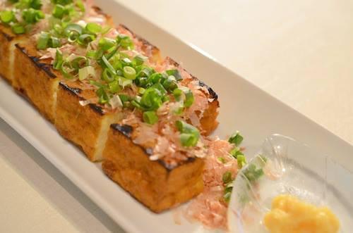 Atsuage (Tofu frito)