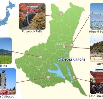 10 Pontos Turísticos para conhecer em Ibaraki