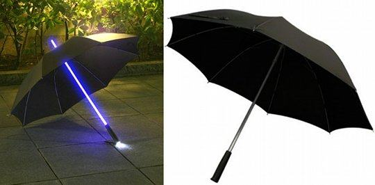 Rainbow Flash LED Umbrella (Japan Trend Shop)