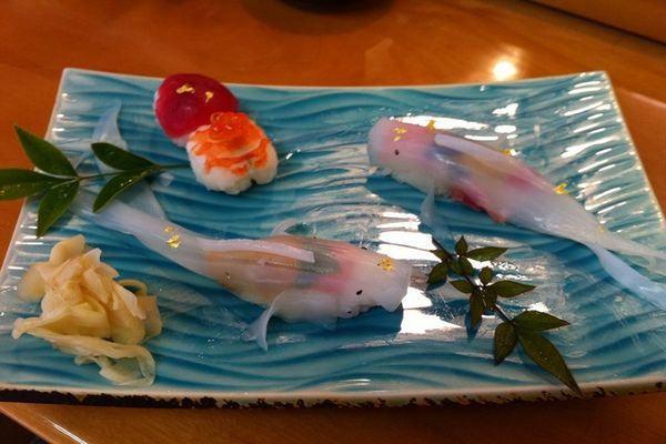 Koi Fish Sushi