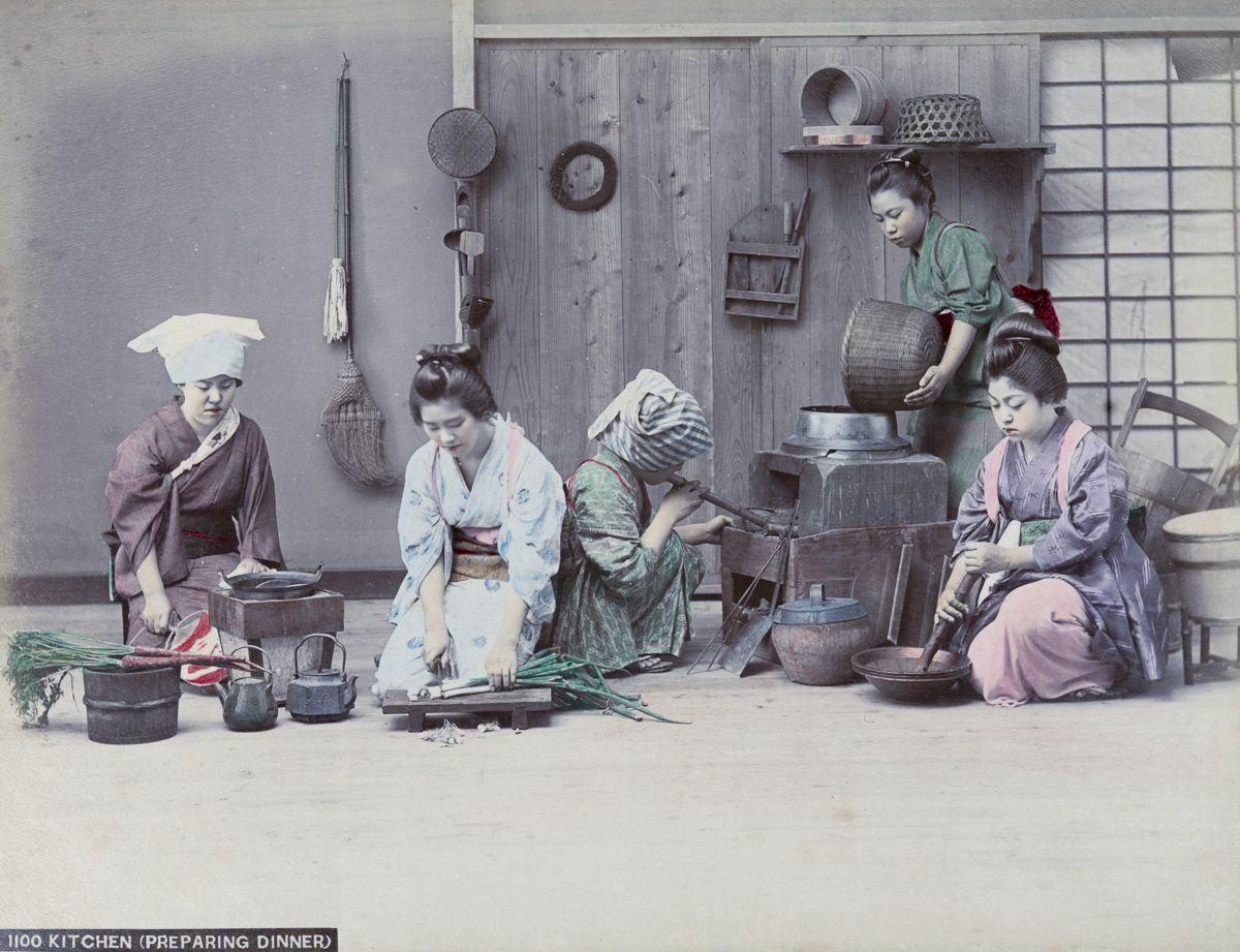 Cenas da Era Meiji Japão