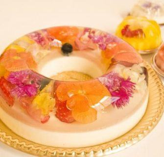 Sobremesas de flor que parecem pequenas obras de arte