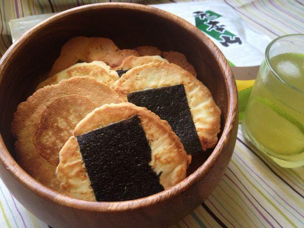 sembei biscoitos japoneses
