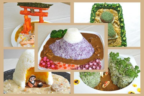 pratos-de-kare-representando-pontos-turisticos-no-japao