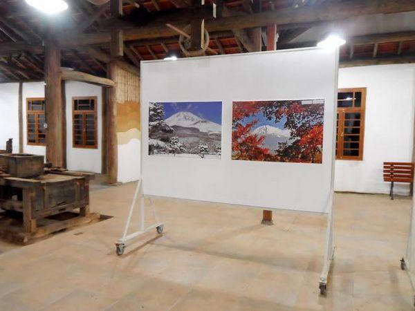 Exposição de fotografias do MONTE FUJI 5