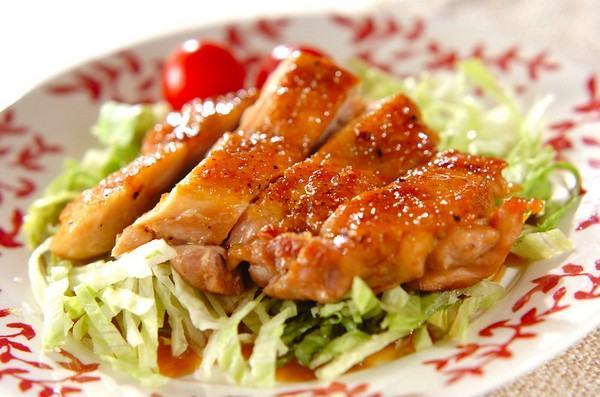 Receita de frango com molho teriyaki