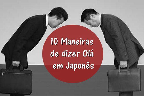 10 maneiras de dizer olá em japonê
