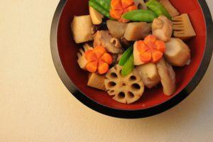 Chikuzenni (Nishime) - Frango e Legumes Cozidos à Moda Japonesa