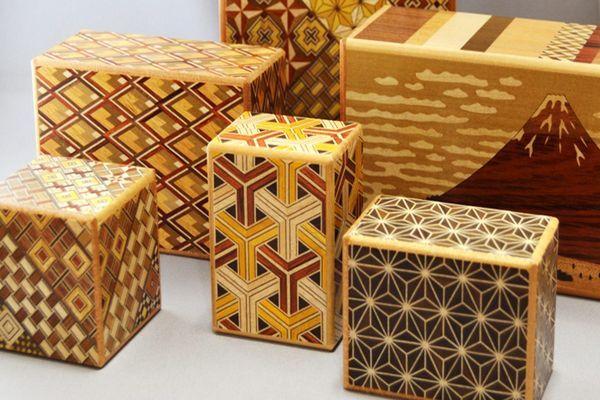 Yosegi - Arte Tradicional Japonesa - Mosaico de Madeira
