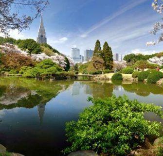 Jardins tradicionais de Tóquio