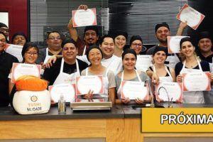 curso de sushi no dia 17-de-setembro