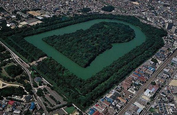 Túmulo do imperador japonês Nintoku