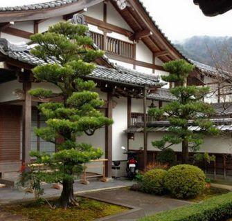 Características de uma casa tradicional japonesa