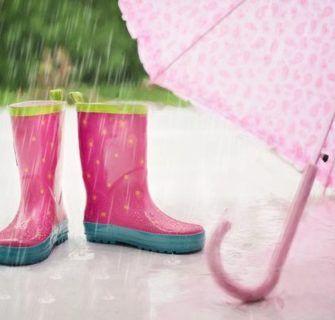 Palavras japonesas relacionadas a chuva
