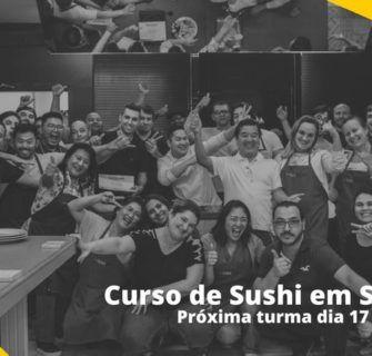 curso de sushi 17 de Dezembro