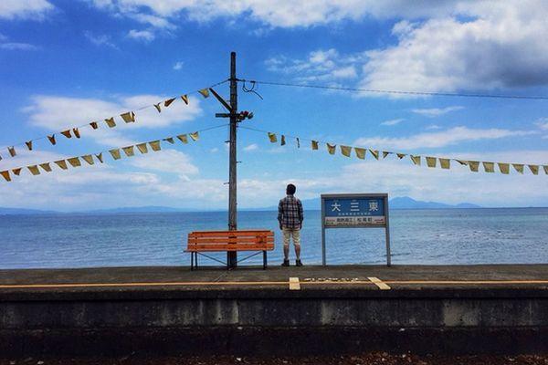 estações de trem com as mais belas vistas para o mar do Japão