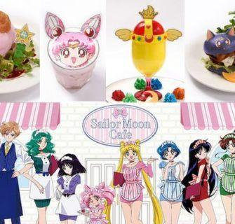 Sailor Moon Cafe 2017