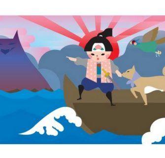 A Lenda de Momotaro (Menino Pêssego)