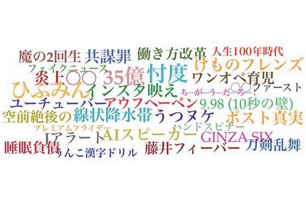 As 30 expressões ou palavras mais populares no Japão em 2017