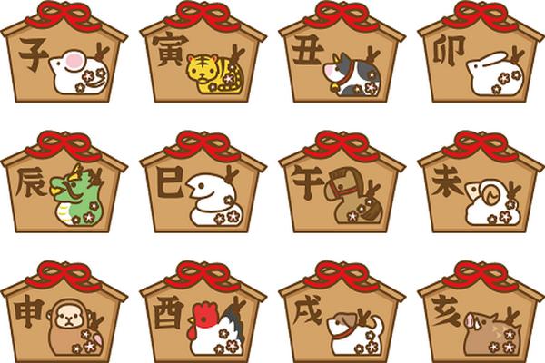 Os 12 signos do zodíaco japonês