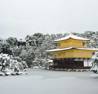 incríveis cenários de neve no Japão