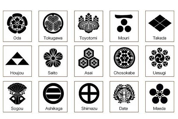 Kamon: Os Brasões das Famílias Japonesas