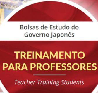 Bolsas de Estudo MEXT: Treinamento de Professores 2018
