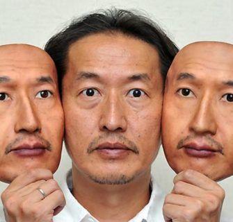 As máscaras hiper-realistas de Osamu Kitagawa