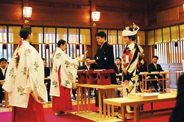 Casamento tradicional no Japão