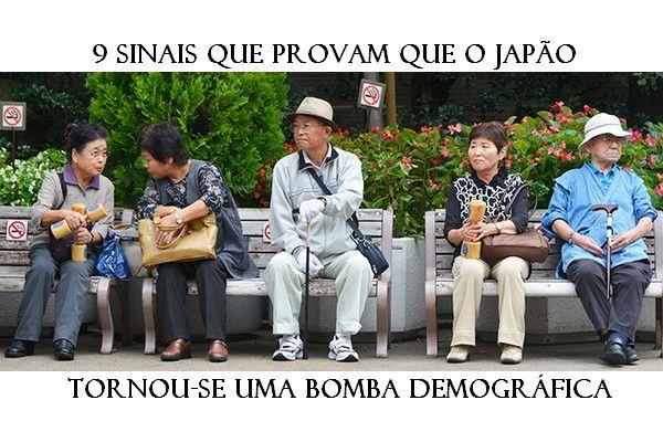 Sinais que provam que o Japão tornou-se uma bomba demográfica