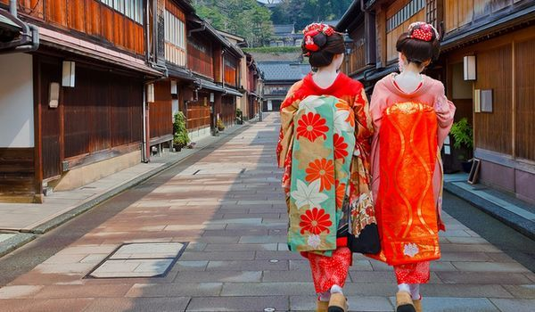 gueixas em Kyoto