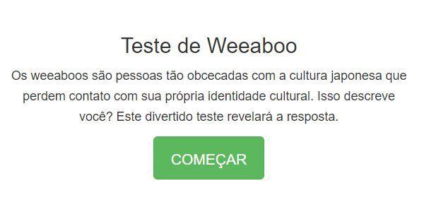 Weeaboo Teste