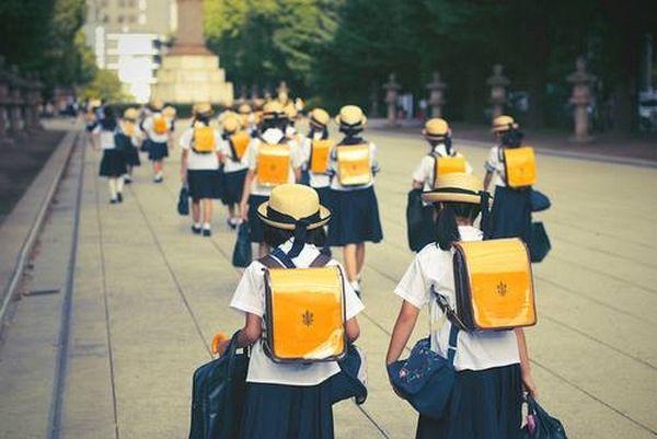 estudantes japoneses