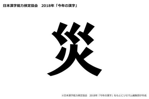 kotoshi no kanji - Kanji do Ano 2018