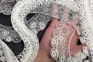 A incrível e meticulosa arte com papel pela artista japonesa Masayo Fukuda
