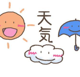 Como expressar condições climáticas em japonês