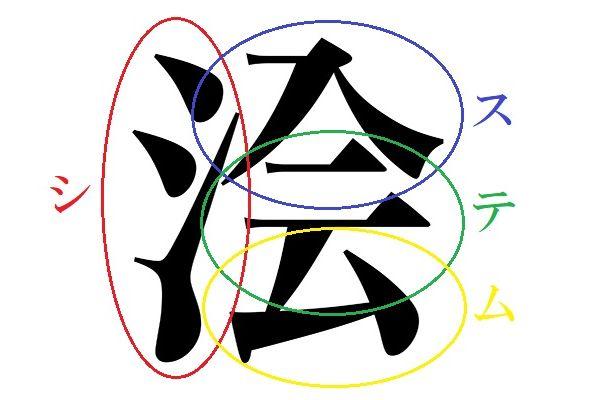 Kanji de Gouhinata 1