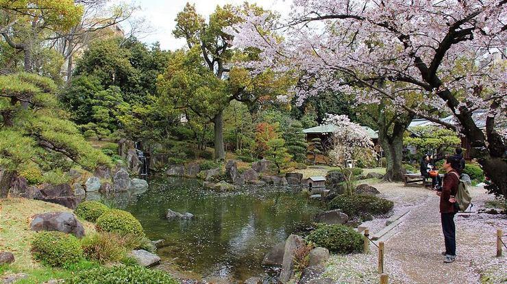 Shitennoji Temple, Gokuraku-jodo Garden, Osaka