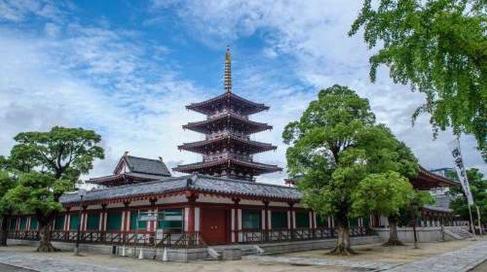 Shitennoji, o templo budista mais antigo do Japão