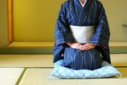 seiza, a maneira tradicional de sentar no Japão