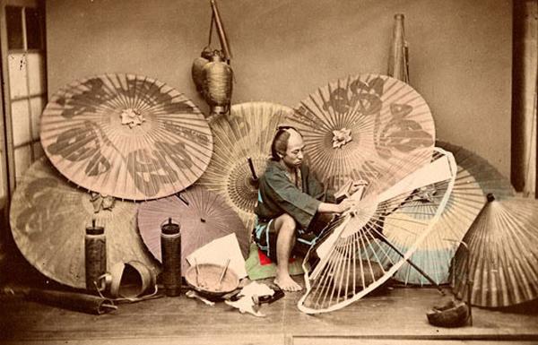 Wagasa, a tradicional sombrinha japonesa