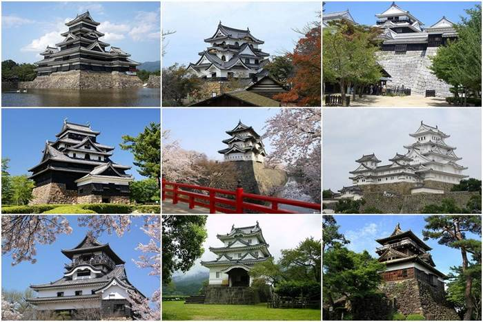 Os 12 Castelos Japoneses que ainda mantem suas estruturas originais