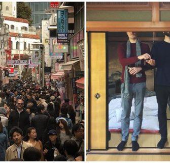 30 vezes que as pessoas perceberam que são altas demais para o Japão
