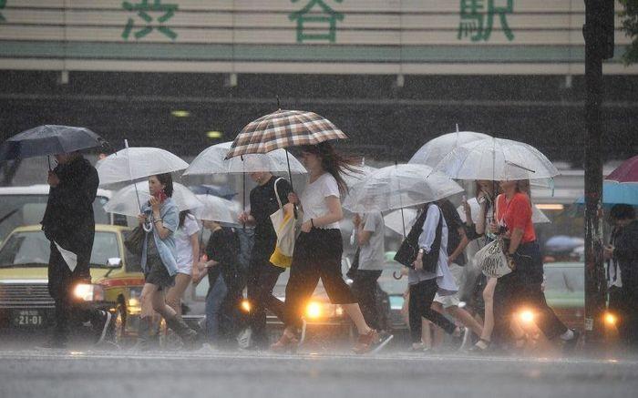 Temporada de Tufões no Japão